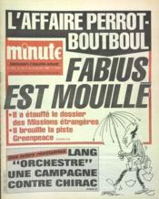 Minute N°1240 du 11/01/1986 - Couverture - Format classique