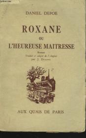 Roxane Ou L'Heureuse Maitresse - Couverture - Format classique