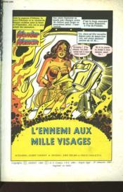 Wonder Woman - Album Super Action N°9 - L'Ennemi Aux Mille Visages - Et - Le Duc Des Tromperies - Couverture - Format classique