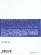 Ethique A Nicomaque (Livre V Chapitres 1 A 10) Aristote Texte & Commentaire - 4ème de couverture - Format classique