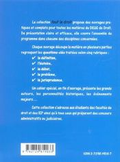 Droit Constitutionnel 2e Edition - 4ème de couverture - Format classique