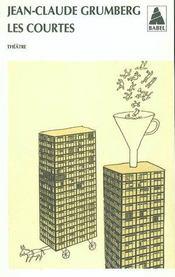 Les Courtes (Ne) Babel 159 - Intérieur - Format classique
