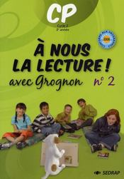 A Nous La Lecture ; Cp ; Le Fichier De L'Elève T.2 - Intérieur - Format classique