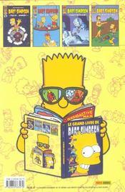 Les Simpson ; Le Grand Livre De Bart Simpson - 4ème de couverture - Format classique