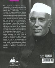 La decouverte de l'inde - 4ème de couverture - Format classique