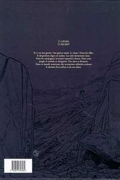 Petit d'homme t.2 ; secret - 4ème de couverture - Format classique