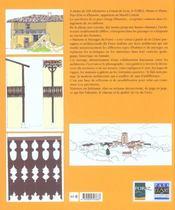 Maisons et paysages du forez - 4ème de couverture - Format classique