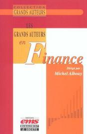 Les grands auteurs en finance - Intérieur - Format classique