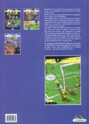 Les foot maniacs t.3 - 4ème de couverture - Format classique