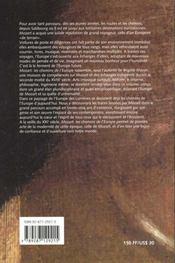 Mozart ; les chemins de l'europe - 4ème de couverture - Format classique