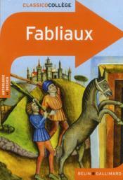 Fabliaux - Couverture - Format classique
