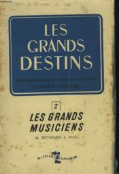 Les Grands Musiciens - Couverture - Format classique