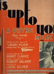 It'S Up To You / A Votre Merci - Piano + Chant. - Couverture - Format classique