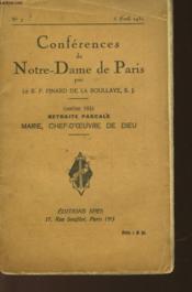 Marie - Chef-D'Oeuvre De Dieu - Couverture - Format classique