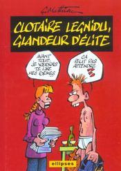 Clotaire Legnidu Glandeur D'Elite L'Album - Intérieur - Format classique