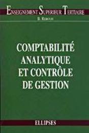 Comptabilite Analytique Et Controle De Gestion - Couverture - Format classique