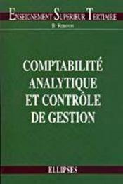 Comptabilite Analytique Et Controle De Gestion - Intérieur - Format classique