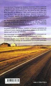 Culturellement Correct ! Tout Savoir Sur Le Monde Anglophone College Lycee - 4ème de couverture - Format classique