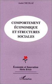 Comportement économique et structures sociales - Intérieur - Format classique