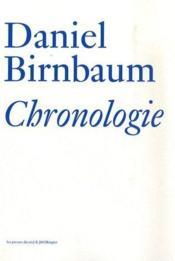 Chronologie - Couverture - Format classique