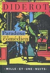 Paradoxe sur le comédien - Intérieur - Format classique