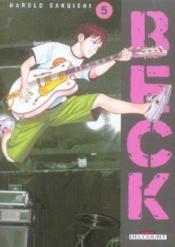 Beck t.5 - Couverture - Format classique