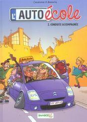 L'auto-école t.2; conduite accompagnée - Intérieur - Format classique
