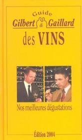 Guide gilbert et gaillard des vins - Intérieur - Format classique