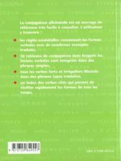 La Conjugaison Allemande - Couverture - Format classique