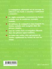 La Conjugaison Allemande - 4ème de couverture - Format classique