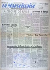 Marseillaise (La) N°32 du 29/03/1945 - Couverture - Format classique
