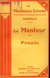 Le Menteur Suivi De Pompee. Collection : Les Meilleurs Livres N° 121. - Couverture - Format classique