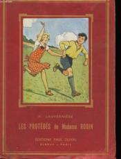 Les Proteges De Madame Robin - Couverture - Format classique