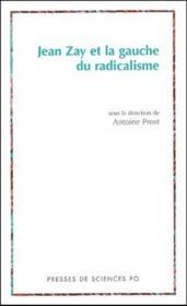 Jean Zay et la gauche du radicalisme - Couverture - Format classique