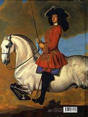 La majesté des centaures ; le portrait équestre dans la peinture occidentale - 4ème de couverture - Format classique