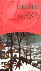 Contes Fantastiques Et Facetieux - Couverture - Format classique