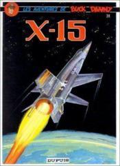 Buck Danny t.31 ; X-15 - Couverture - Format classique