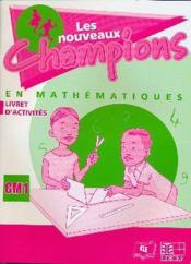 Nouveaux champions mathematiques activites cm1 - Couverture - Format classique