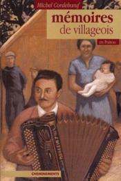 Memoires De Villageois En Poitou - Couverture - Format classique