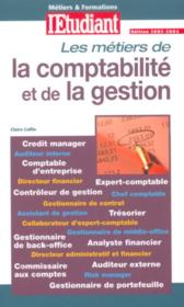 Les metiers de la comptabilite et de la gestion - Couverture - Format classique