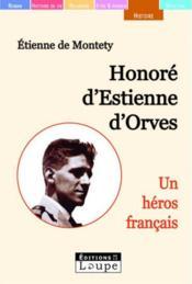 Honoré d'Estienne d'Orves - Couverture - Format classique