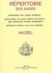 Repertoire des anges - Intérieur - Format classique