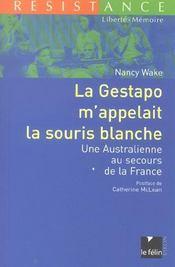 La Gestapo M'Appelait La Souris Blanche - Intérieur - Format classique