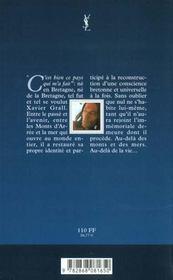Xavier Grall - 4ème de couverture - Format classique