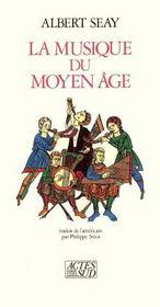 La Musique Du Moyen Age - Intérieur - Format classique