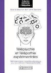 Telepsychie Et Telepathie Experimentales - Couverture - Format classique