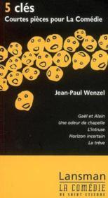 5 Cles : Courtes Pieces Pour La Comedie - Couverture - Format classique