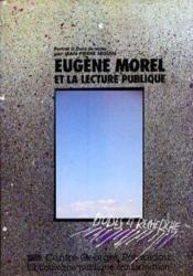 Eugène Morel et la lecture publique - Couverture - Format classique