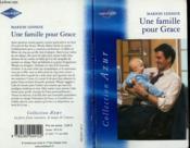 Une famille pour Grace - Couverture - Format classique
