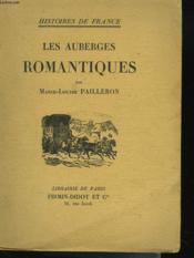 Les Auberges Romantiques - Couverture - Format classique